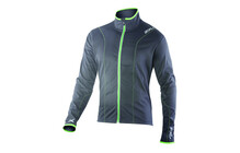2XU Men's Perform Jacket charcoal/lime green